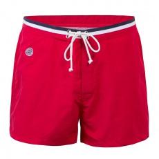 Le Capitaine - Short de bain rouge