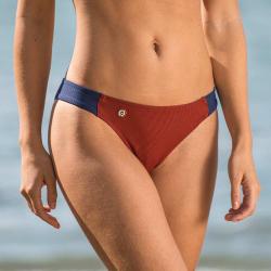 La Baie Rouget Marine - Bas de maillot Rouget/marine