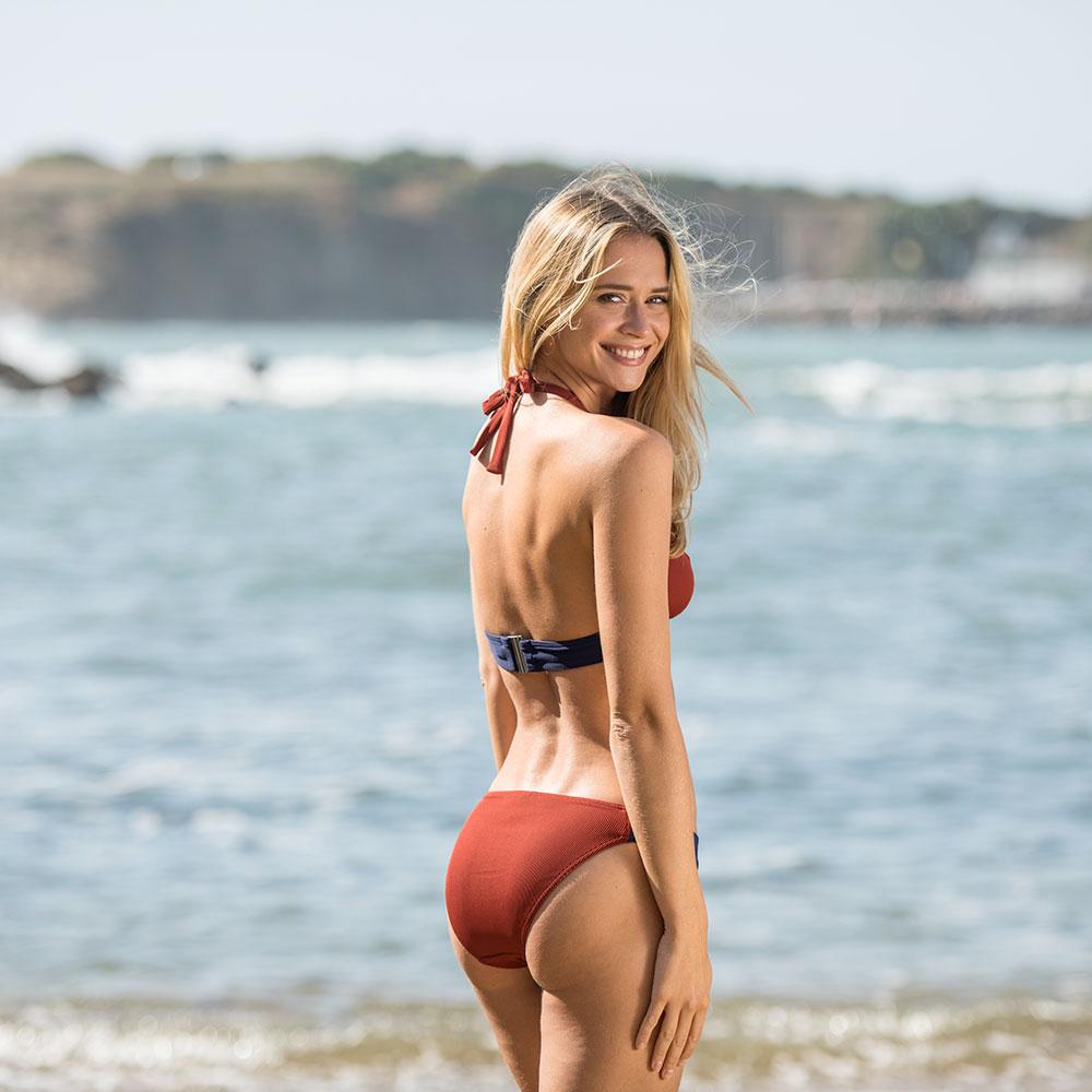 La Dune Rouget - Bikini rouget/marine