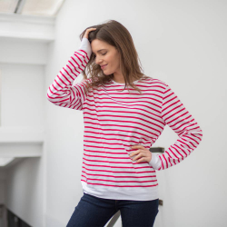 La Marin - Red striped shirt