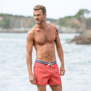 a9086bb231 SWIMWEAR MEN - Le capitaine FANION CORAIL - Short de bain FANION CORAIL