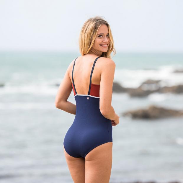 Swim suit red / blue / yellow