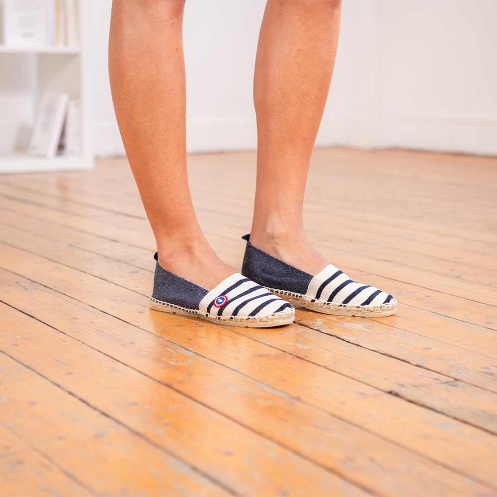 Chaussure Mixte Marin/Marine Le Slip Français