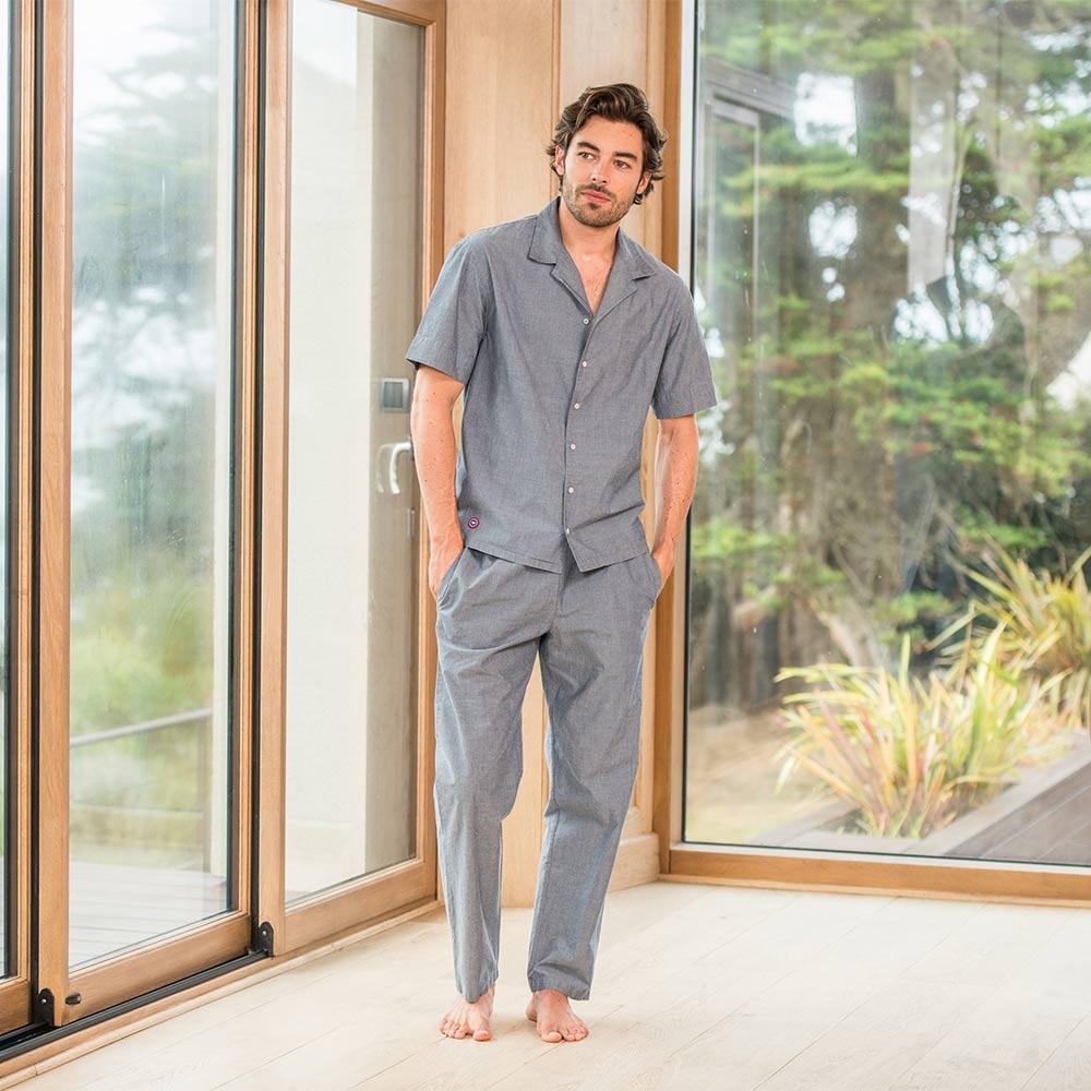 Le charlie BLEUET - Bas pyjama BLEUET