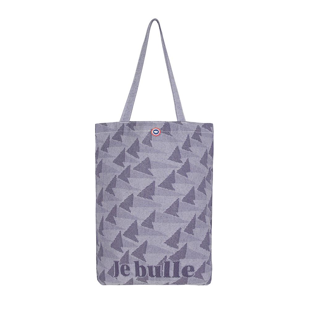 Le tote MARINE/JE BULLE - Sac MARINE/JE BULLE