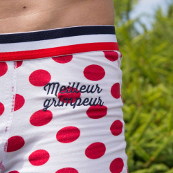 Le Marius Meilleur GRIMPEUR - Gepunktete Trunkshorts Tour de France