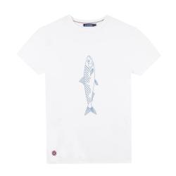 Le jean f BLANC / SARDINE - Tshirt BLANC / SARDINE