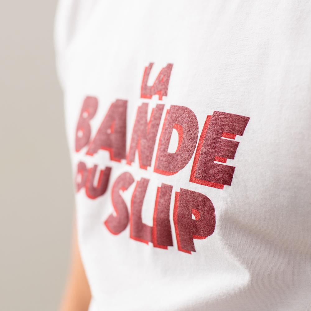 Le jean f BLANC /LBDS - Tshirt BLANC /LBDS