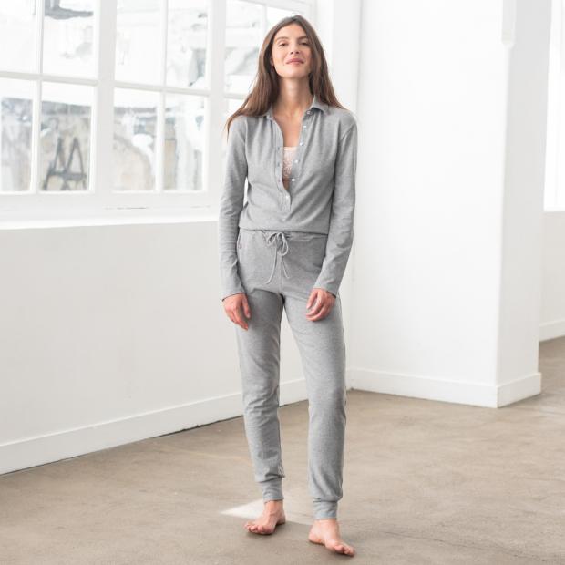 Combinaison pyjama en coton