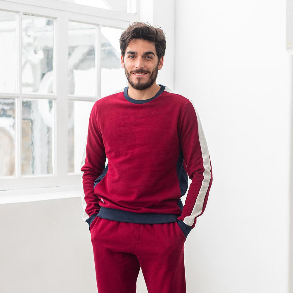 Easywear Haut Homme Bordeaux Le Slip Français