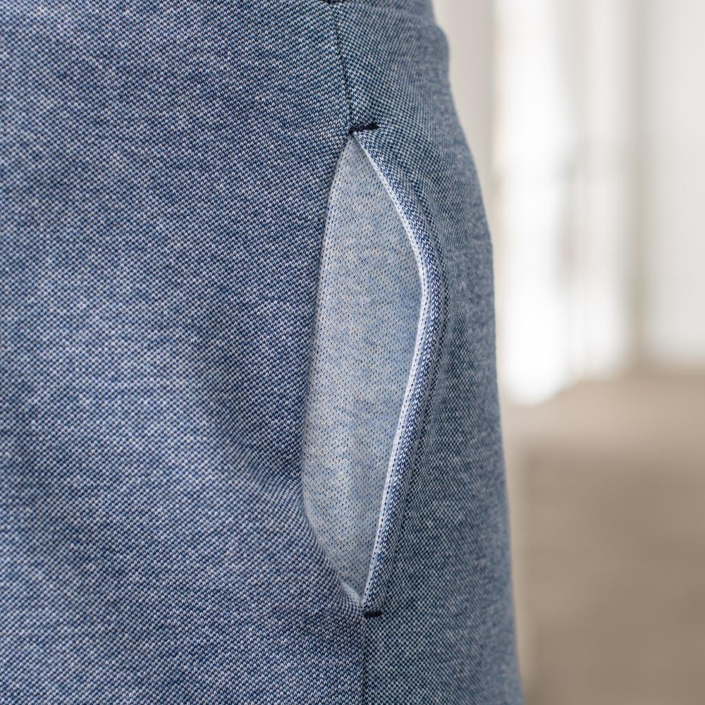 Easywear Bas Homme Bleu Jean Chine Le Slip Français