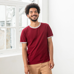 Le georges BORDEAUX - Tshirt BORDEAUX