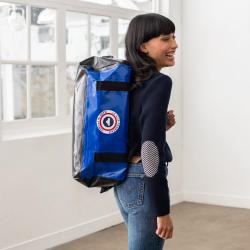 Mino Blue - Blue duffel bag