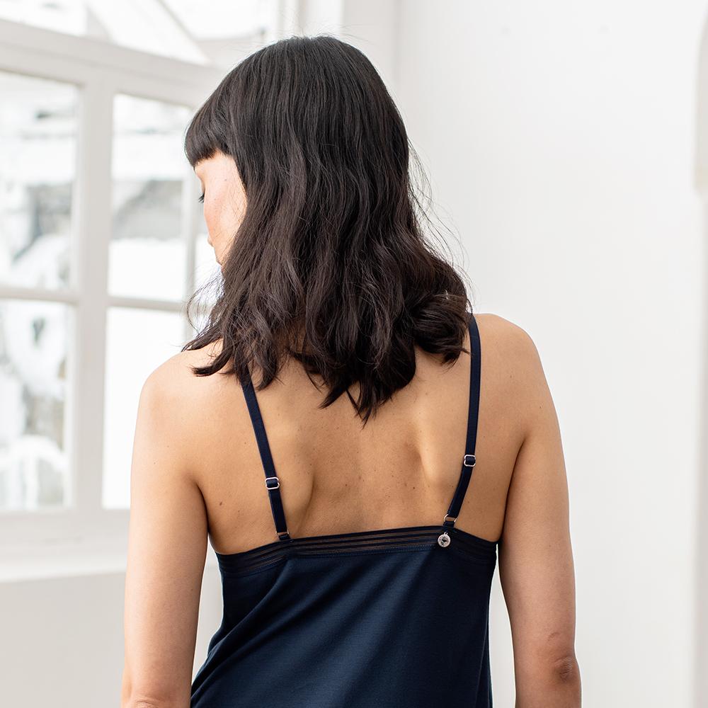 La valentine MARINE - Bas pyjama nuisette