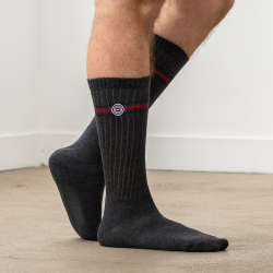 Les andrea ANTHRACITE - Chaussettes ANTHRACITE