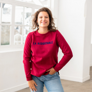 sweat shirt femme made in france