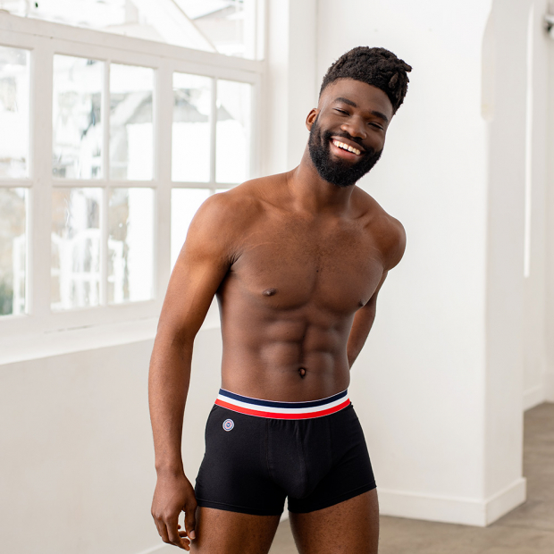 Black boxer brief
