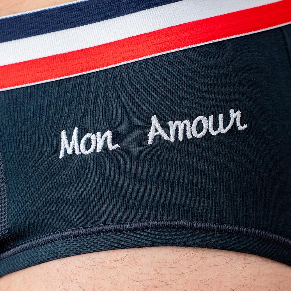Slip Homme Le Terrible Bleu Amour Le Slip Français