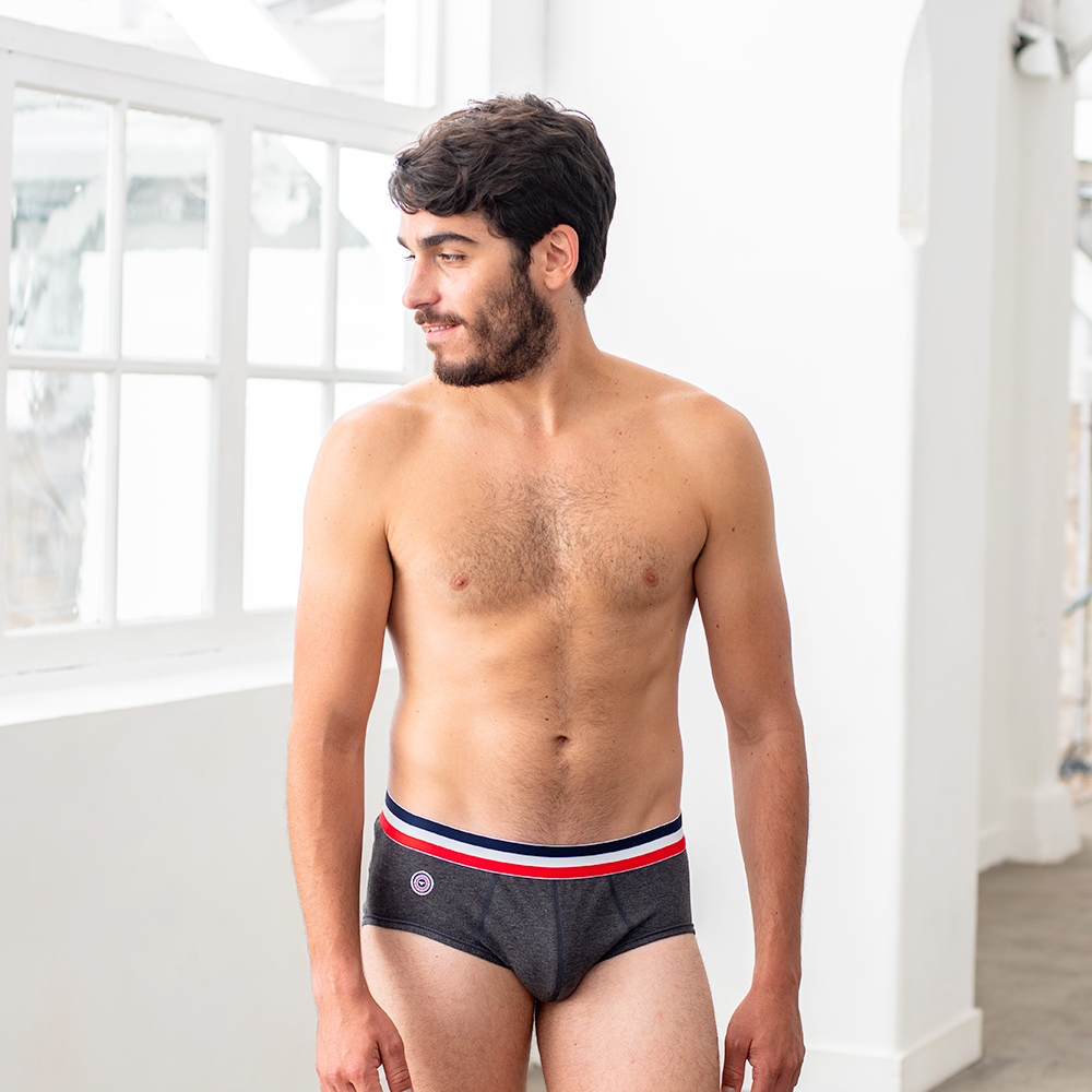 Le Vigilant - Dark Grey Briefs