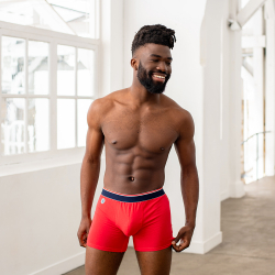 Le Michel - Boxer long rouge