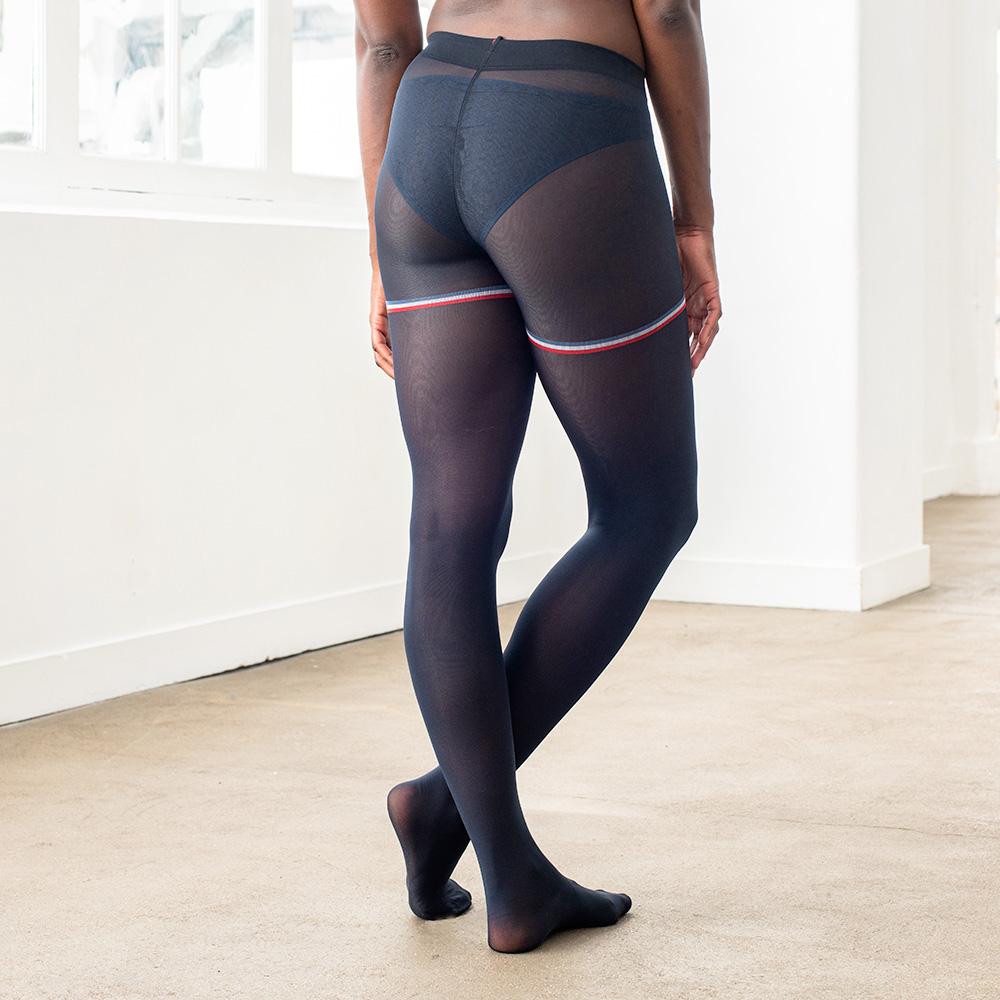 Collants Femme Les Violette Marine Le Slip Français