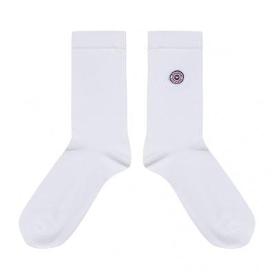 INDISPENSABLES - Les Lucas - Chaussettes unies blanches