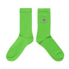 Les Lucas - Chaussettes unies vertes