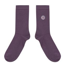 Les Lucas - Purple socks