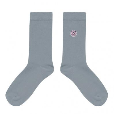 Chaussettes Homme - Les Lucas - Chaussettes unies gris clair
