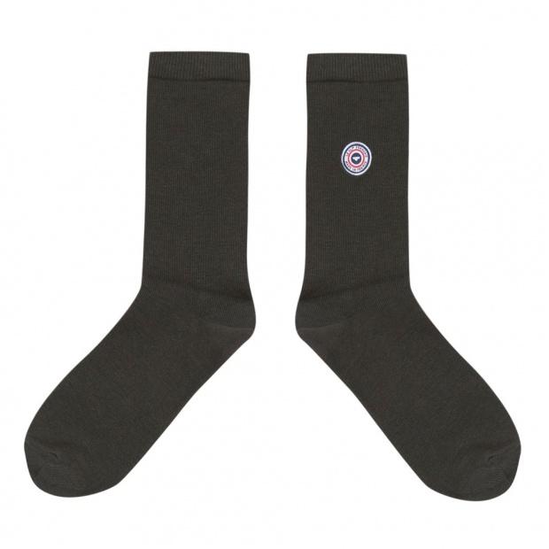 Chaussettes mi-hautes mixtes en coton