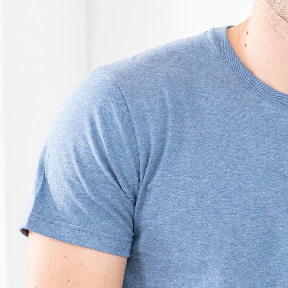 Easywear Haut Mixte Bleu Jean Chine Le Slip Français