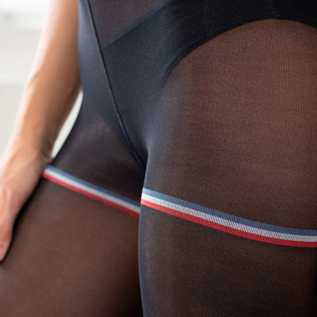 Collants noirs semi-opaques