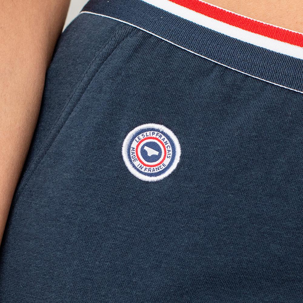 La Chouchou bleue marine - Bas de pyjama bleu marine