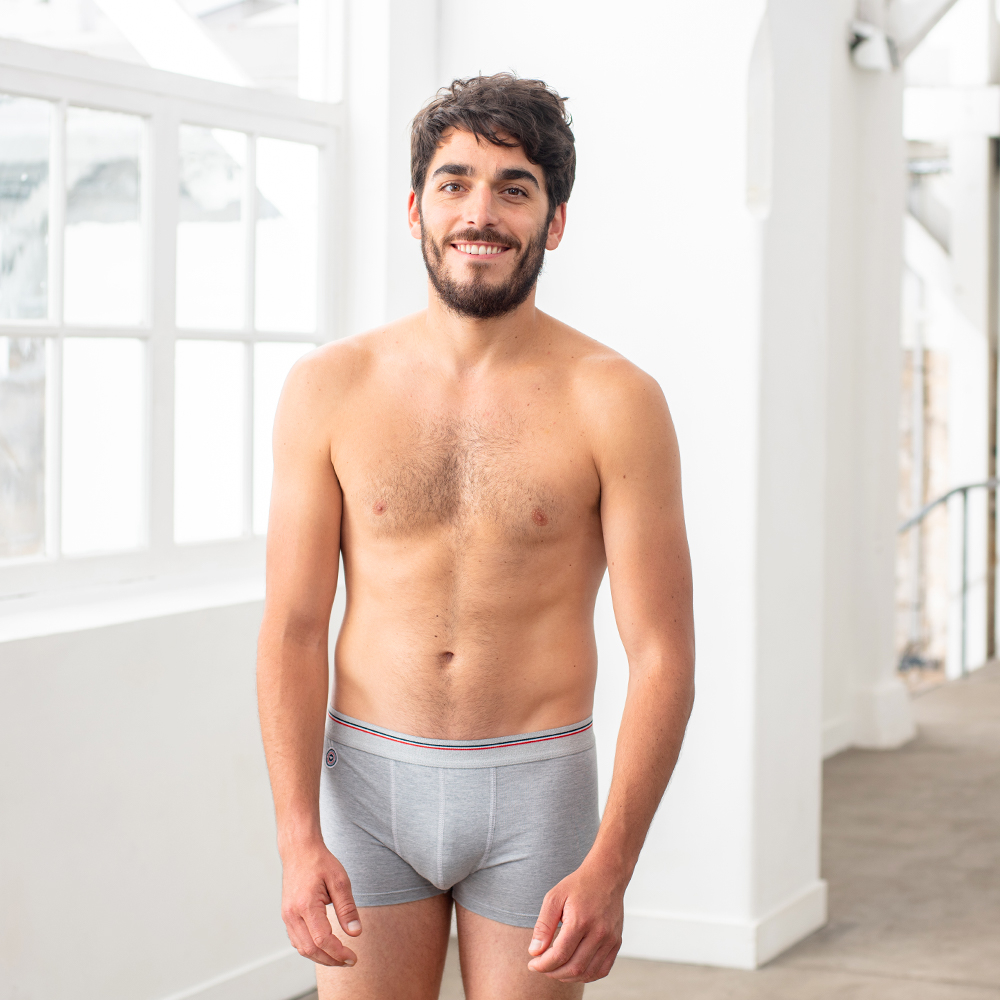 Le Samuel - Grey boxer brief