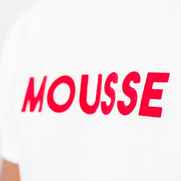 """T-shirt en coton floqué """"Mousse"""""""