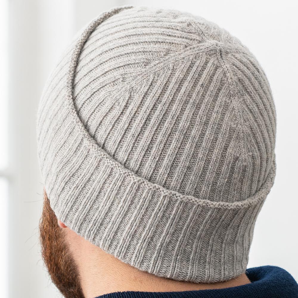 Le indispensable GRIS CLAIR - Bonnet GRIS CLAIR