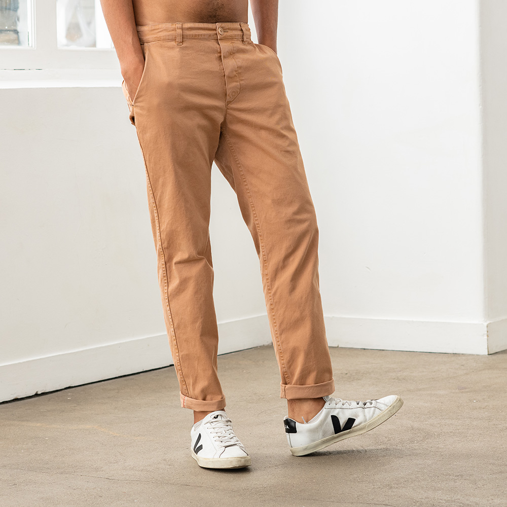 Le Gustave - pantalon camel