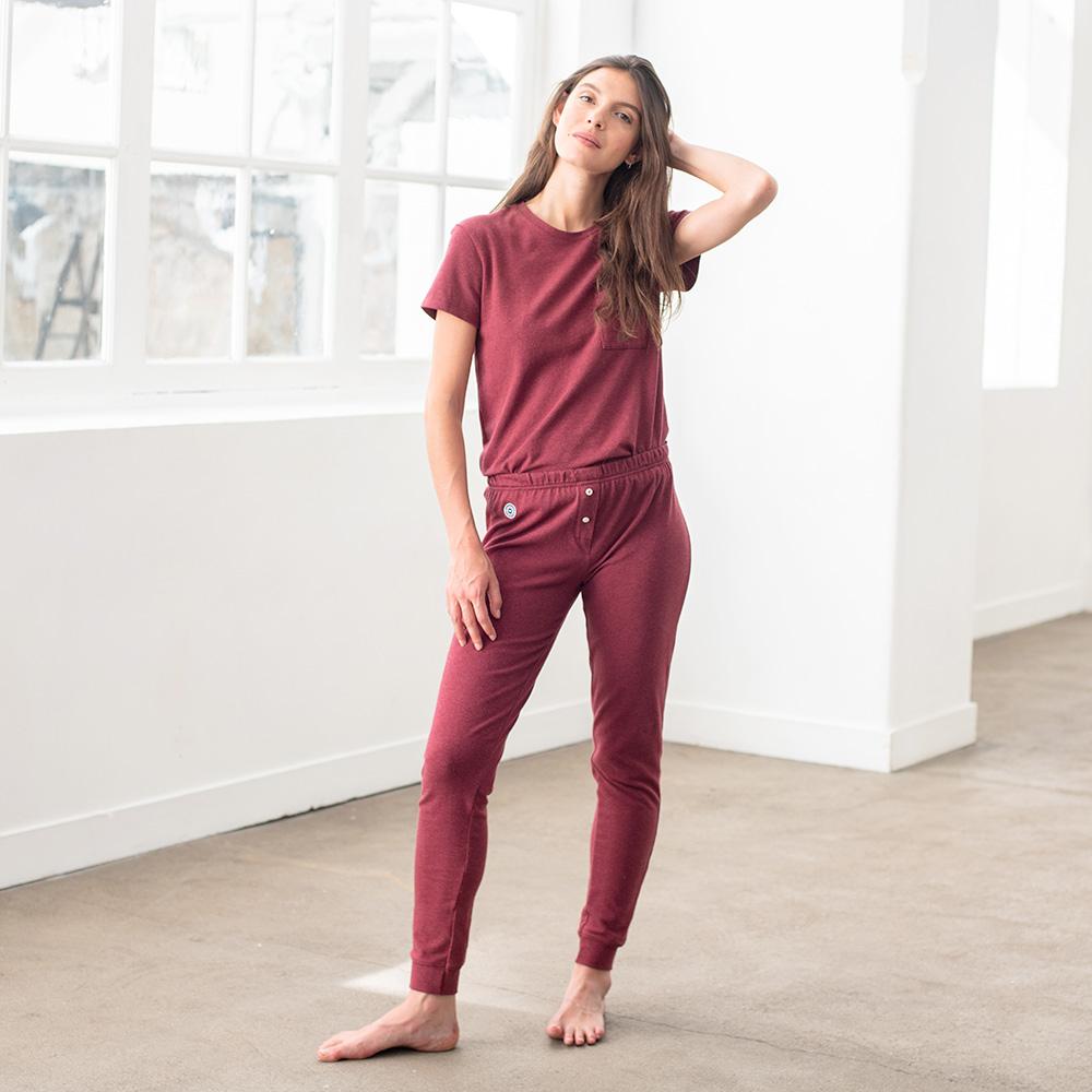 Easywear Haut Femme Bordeaux Le Slip Français