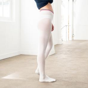 Cotton tights opaque