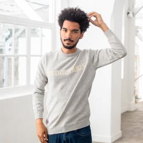 Pull mixte en laine recyclée