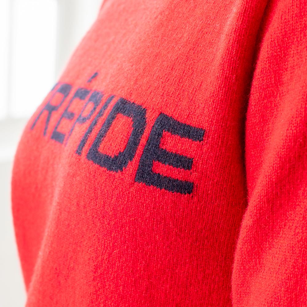Le Serge - Rouge pull