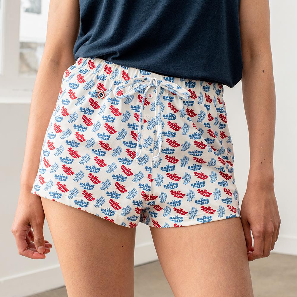 Ensemble Pyjama Femme Marine Le Slip Français