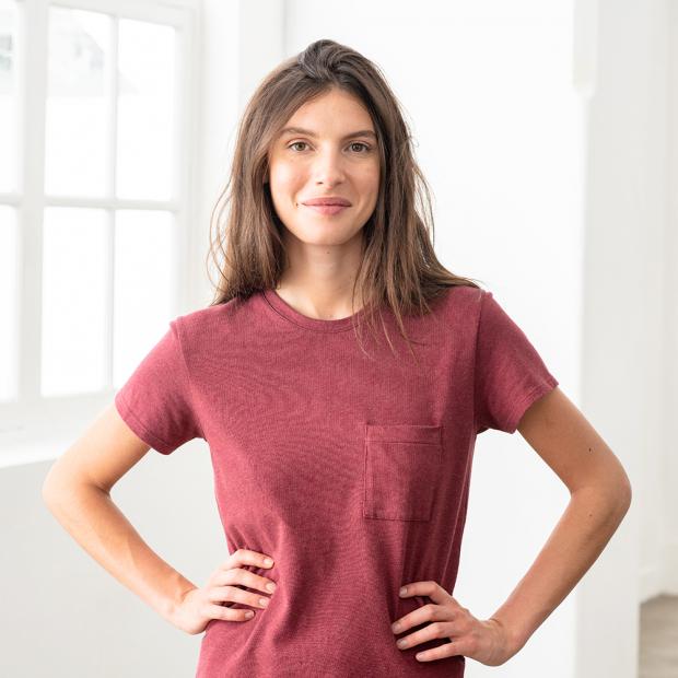 T-shirt manches courtes en coton