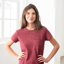 La jeannine BORDEAUX - Tshirt BORDEAUX