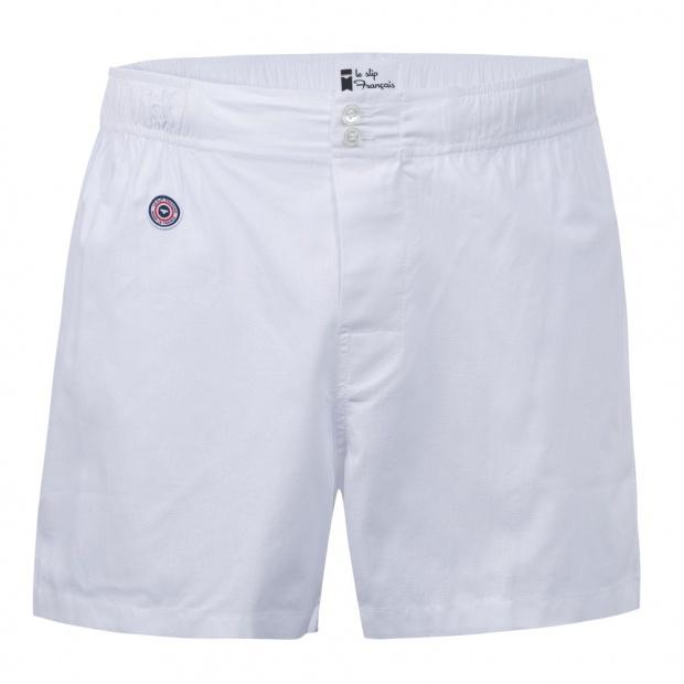 White boxer short