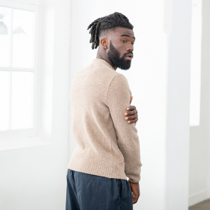 Pullover from French wool