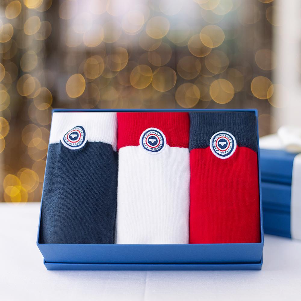Les Lucas trio - pack tricolore Noël