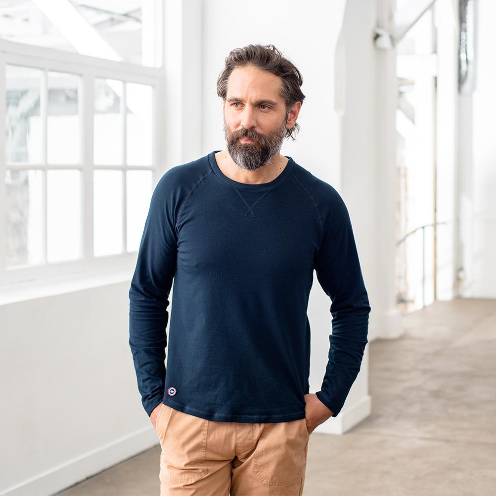 Pyjama Haut Homme Marine Le Slip Français