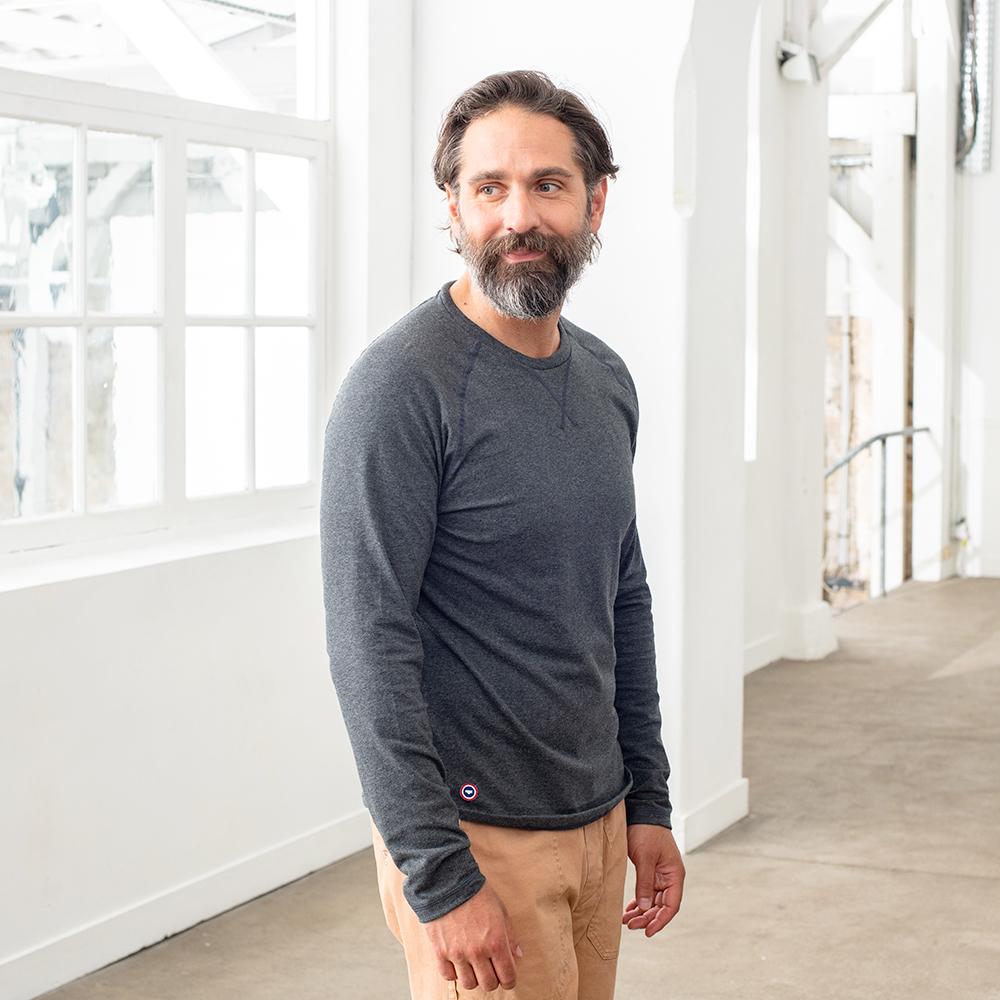 Pyjama Haut Homme Anthracite Le Slip Français