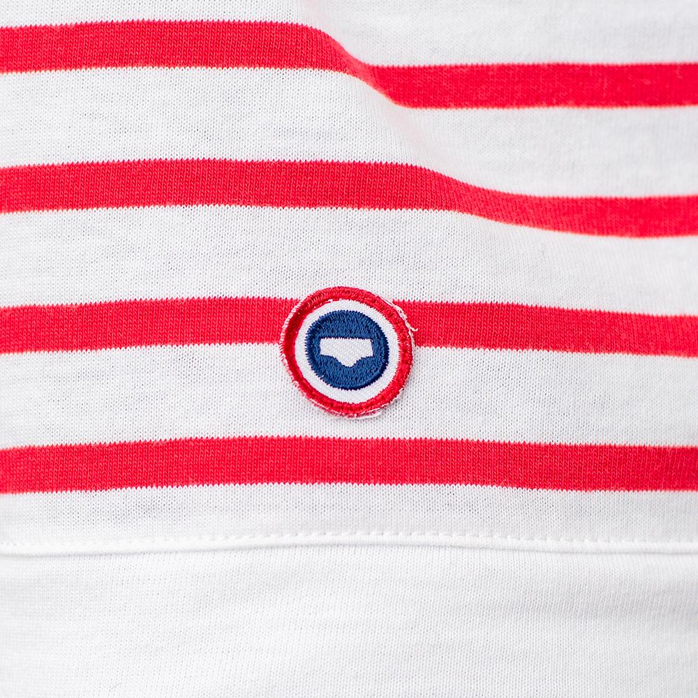Easywear Haut Mixte Mariniere Rouge Le Slip Français